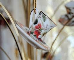porcelain tea cup teacup ornaments 12 assorted floral chintz