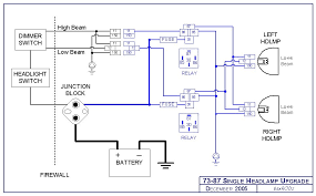 wiring diagram for headlight switch wiring diagram and schematic