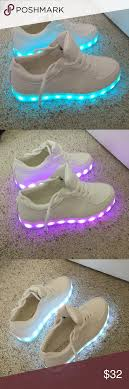how to charge light up shoes light up sneakers white sneakers blue yellow and red green