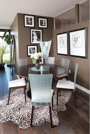 Zebra Print Dining Chairs The High Life At Ironworks Home Of The Month Indianapolis Monthly