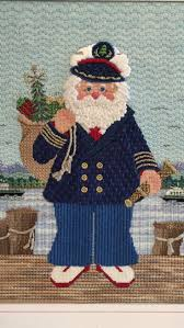 93 best santa needlepoint images on pinterest needlework