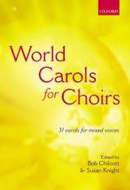 world carols for choirs satb sheet sheet plus