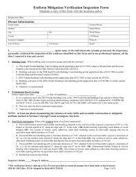 uniform mitigation verification inspection form owner information