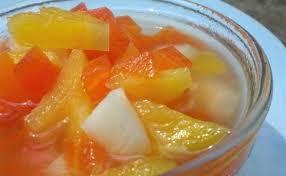 cara buat es lilin nanas es buah pepaya nanas yang bikin segar untuk buka puasa