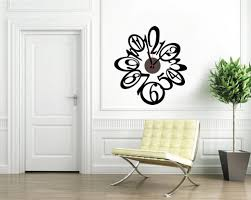 minimalist wall clock fun rooms big round black decorative classic iron wall clock