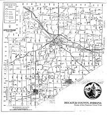 Indiana Counties Map Allen Barlow