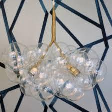 Cascading Glass Bubble Chandelier Shop Bubble Chandelier On Wanelo