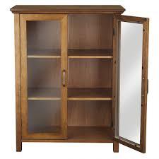 Door Storage Cabinet Bathrooms Design Small Storage Cabinet With Doors Glass Front