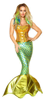 mermaid costume deluxe siren of the sea mermaid costume costume craze
