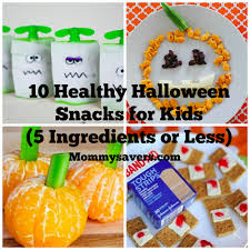 Kid Halloween Snacks 5 Easy And Healthy Halloween Snacks For Kids La Jolla Mom Healthy