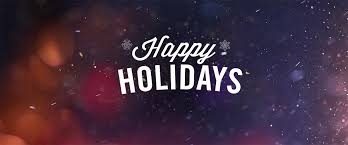 happy holidays and a great new year