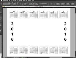 create a custom photo calendar in photoshop elements dummies