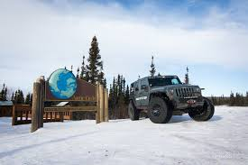 jeep arctic exploring alaska in the