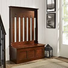stylish entryway storage bench with coat rack build an entryway
