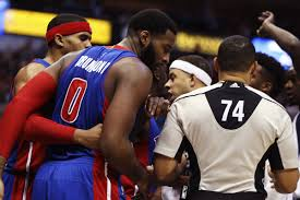 pistons follow up blowout loss with team meeting detroit bad boys