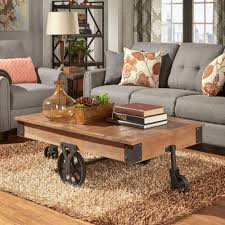 homesullivan grove place distressed mobile coffee table 403228 30