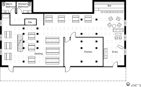 resturant floor plan popular restaurant floor plan with bar restaurant floor plan