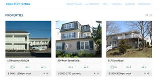 7 minimalist realtor and rental property site designs