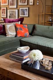 velvet sectional sofa velvet sectional sofa eclectic living room emily henderson