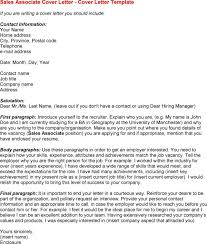 cover letter examples retail sales associate how to build your