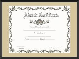 royal award certificate template get certificate templates