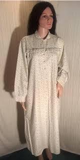 vintage 1960s cotton edwardian style nightdress large sixties