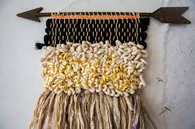 beautiful textured wall hangings by all roads design