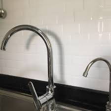 Brick Kitchen Backsplash by Kitchen Backsplash Tile Peel And Stick White Brick Subway For Bathroom