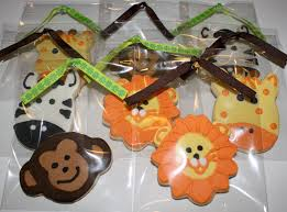 it u0027s a jungle out there u2026a safari baby shower honeycombs cookie