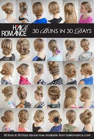 different hair buns 30 buns in 30 days archives hair