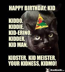 Cat Happy Birthday Meme - funny cats tell birthday jokes happy birthday from kitty pg 6