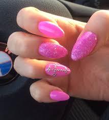 calli u0027s stiletto nails in barbie pink yelp