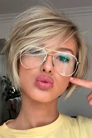 hair styles for round faces and long noses 30 blonde short hairstyles for round faces blonde short