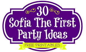 Sofia The First Birthday Decorations 30 Sofia The First Party Ideas Free Printables U0026 Must Haves