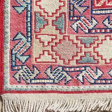 Kilim Area Rug 7 X10 Handmade Wool Rug Traditional Bohemian Style