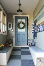 Turn A Wasted Space In The Garage Into A Mudroom For The Whole - Garage into family room
