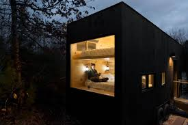 tyny houses modern life too much for you maybe a tiny box in the woods is the