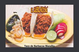 Blandito Menu Tacos El Guero Alteño