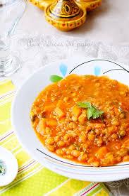 recette comment cuisiner les lentilles ragoût de lentilles à l algérienne مرقة العدس aux delices du