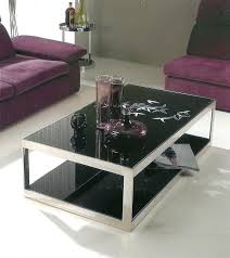 black glass top end tables glass top coffee table the best black glass top coffee table small