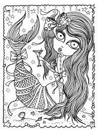 mermaid wonders a mindful coloring book for adults n a deborah