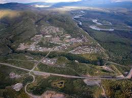town of faro tourism real estate transportation yukon canada