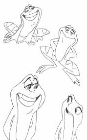 51 best prinses en de kikker images on pinterest frog coloring