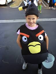 Angry Birds Halloween Costume Chadwicks U0027 Picture Place Homemade Black Angry Bird Bomb