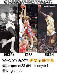 Kobe Lebron Jordan Meme - 25 best memes about jordan lebron kobe jordan lebron kobe memes