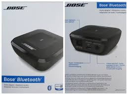 bose home theater dock bose bluetooth wireless music audio receiver adapter unboxing