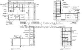 Kitchen Drawings Millwork Archives Shop Drawing Services Ltd