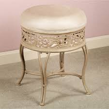 Vanity Stools For Bathrooms 43 Vanity Stool Cover Vanity Stool Cover Includes Cushion Ruffled