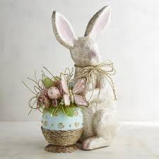 Pier 1 Home Decor Pier 1 Imports Capiz Shimmer Bunny Centerpiece 70 Liked On