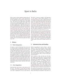 sport in india pdf download available